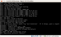 CentOS 5 fail to install on VirtualBox