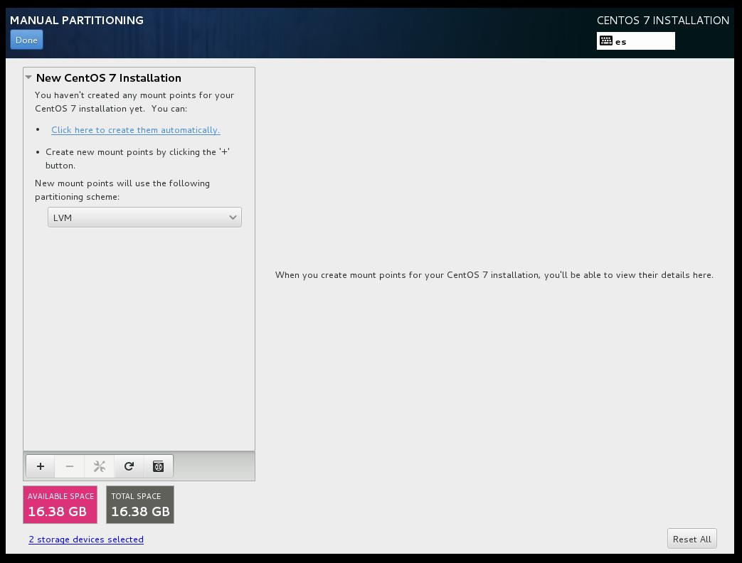 CentOS 7 Server Installation with RAID — English