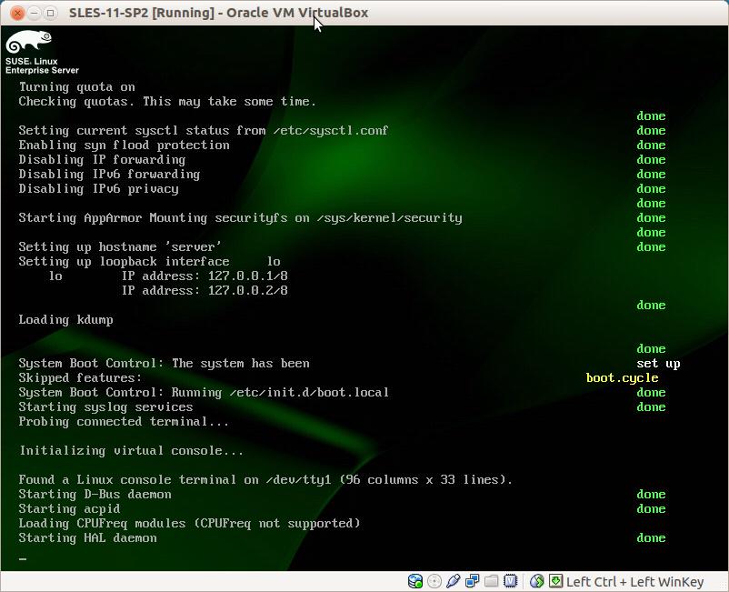 Suse Linux Enterprise Server 11 SP2 Installation — English