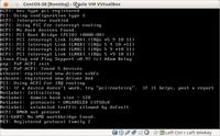 CentOS 5 si blocca durante l'installazione in VirtualBox